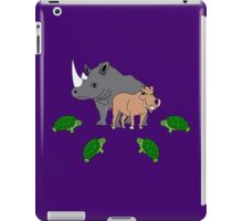 Bebop and Rocksteady vs the Turtles iPad Case/Skin