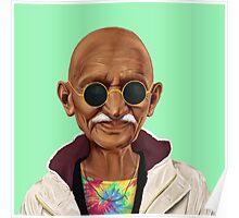 Hipstory- Mahatma Gandhi Poster