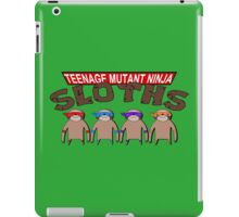 Teenage Mutant Ninja Sloths iPad Case/Skin
