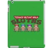 Teenage Mutant Ninja Sloths iPad Case/Skin
