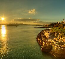 Plymouth Hoe Sunset  by Rob Hawkins