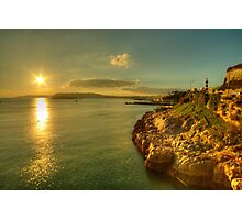 Plymouth Hoe Sunset  Photographic Print