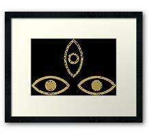 Three Eyed Raven Framed Print