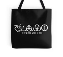 Led Zeppelin - To Be a Rock Tote Bag