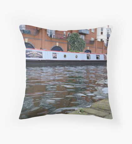 A swell time.... Throw Pillow