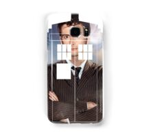 The Doctor Tee - Tardis T-Shirt Samsung Galaxy Case/Skin