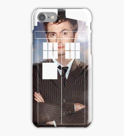 The Doctor Tee - Tardis T-Shirt iPhone Case/Skin