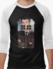 The Doctor Tee - Tardis T-Shirt Men's Baseball ¾ T-Shirt