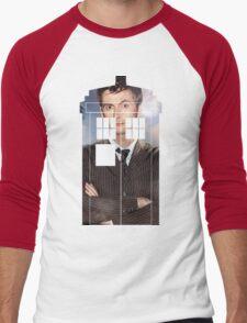 The Doctor Tee - Tardis T-Shirt Men's Baseball ¾ T-Shirt