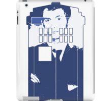 New Blue Box T-Shirt Tardis Tee iPad Case/Skin