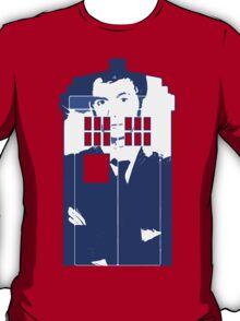 New Blue Box T-Shirt Tardis Tee T-Shirt