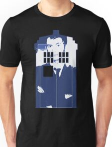 New Blue Box T-Shirt Tardis Tee Unisex T-Shirt