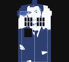 New Blue Box T-Shirt Tardis Tee T-Shirt