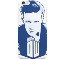 Get it Tee Of Character Dr. Who T-Shirt iPhone Case/Skin