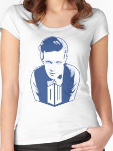 Get it Tee Of Character Dr. Who T-Shirt Women's Fitted Scoop T-Shirt