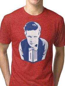 Get it Tee Of Character Dr. Who T-Shirt Tri-blend T-Shirt