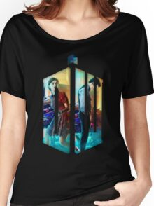 Dr. Who Fans Tee Character T-Shirt Women's Relaxed Fit T-Shirt