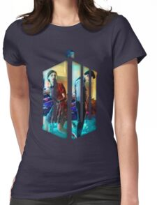 Dr. Who Fans Tee Character T-Shirt Womens Fitted T-Shirt