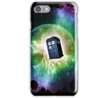 Universe Blue Box Tee The Doctor T-Shirt iPhone Case/Skin