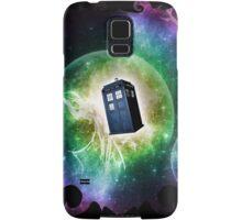 Universe Blue Box Tee The Doctor T-Shirt Samsung Galaxy Case/Skin