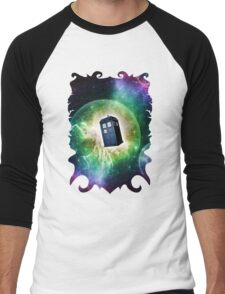 Universe Blue Box Tee The Doctor T-Shirt Men's Baseball ¾ T-Shirt