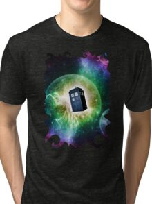 Universe Blue Box Tee The Doctor T-Shirt Tri-blend T-Shirt