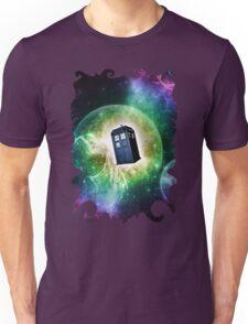 Universe Blue Box Tee The Doctor T-Shirt Unisex T-Shirt