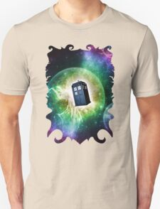 Universe Blue Box Tee The Doctor T-Shirt Unisex T-Shirt