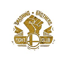 Smashing Brothers Fight Club Photographic Print