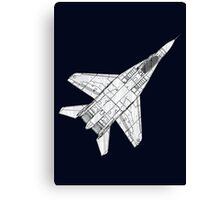 Mig 29 Fighter Plane Canvas Print