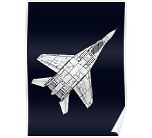 Mig 29 Fighter Plane Poster