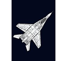 Mig 29 Fighter Plane Photographic Print