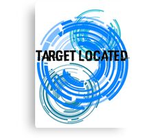 Target Located Canvas Print