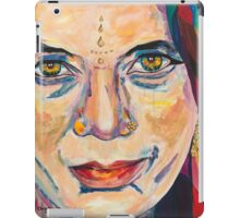Fille Du Feu iPad Case/Skin