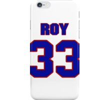 National Hockey player Patrick Roy jersey 33 iPhone Case/Skin