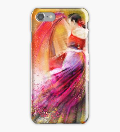 Flamencoscape 12 iPhone Case/Skin