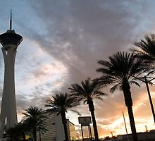 Stratosphere Sunset by urbanphotos