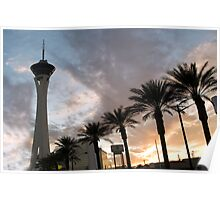 Stratosphere Sunset Poster