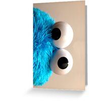 cookie eye fun Greeting Card
