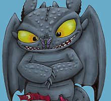 Toothless by angel7sin7