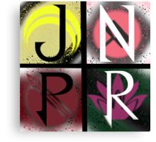 JNPR 4 Way Combo Symbols Canvas Print