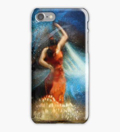 Flamencoscape 05 iPhone Case/Skin