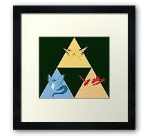 The Legendary Birds Triforce Framed Print