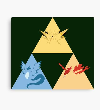 The Legendary Birds Triforce Canvas Print