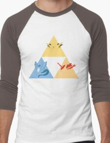 The Legendary Birds Triforce Men's Baseball ¾ T-Shirt