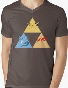 The Legendary Birds Triforce Mens V-Neck T-Shirt
