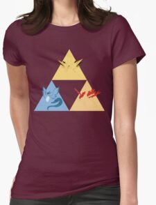 The Legendary Birds Triforce Womens Fitted T-Shirt