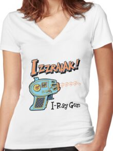 Raygun I Women's Fitted V-Neck T-Shirt