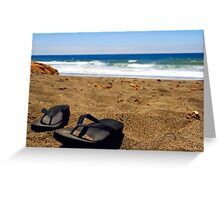 The Sand Between My Toes Greeting Card