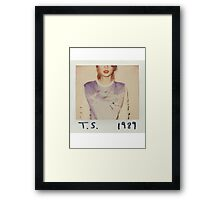 Taylor Swift 1989 Framed Print